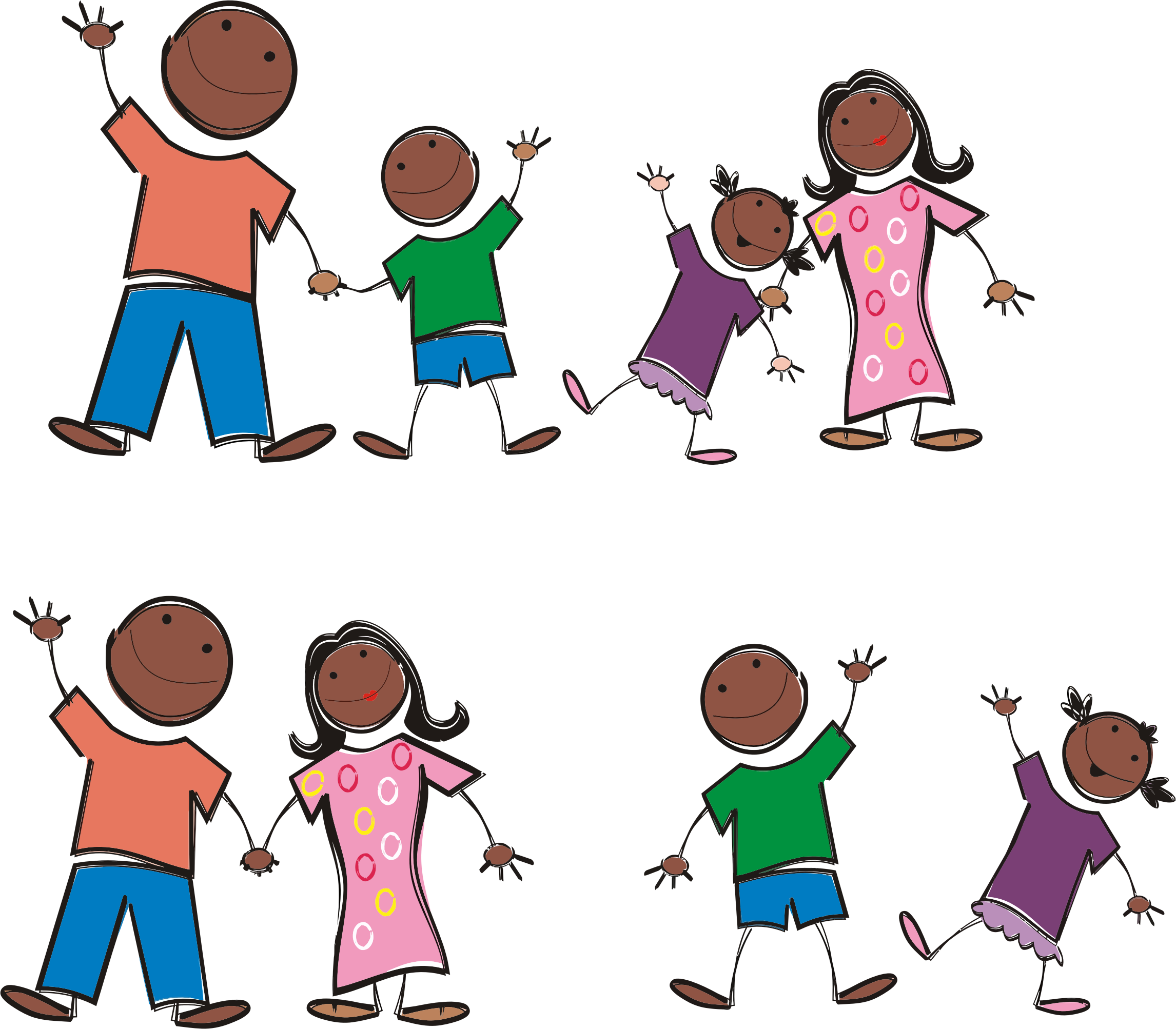 family stick figure png