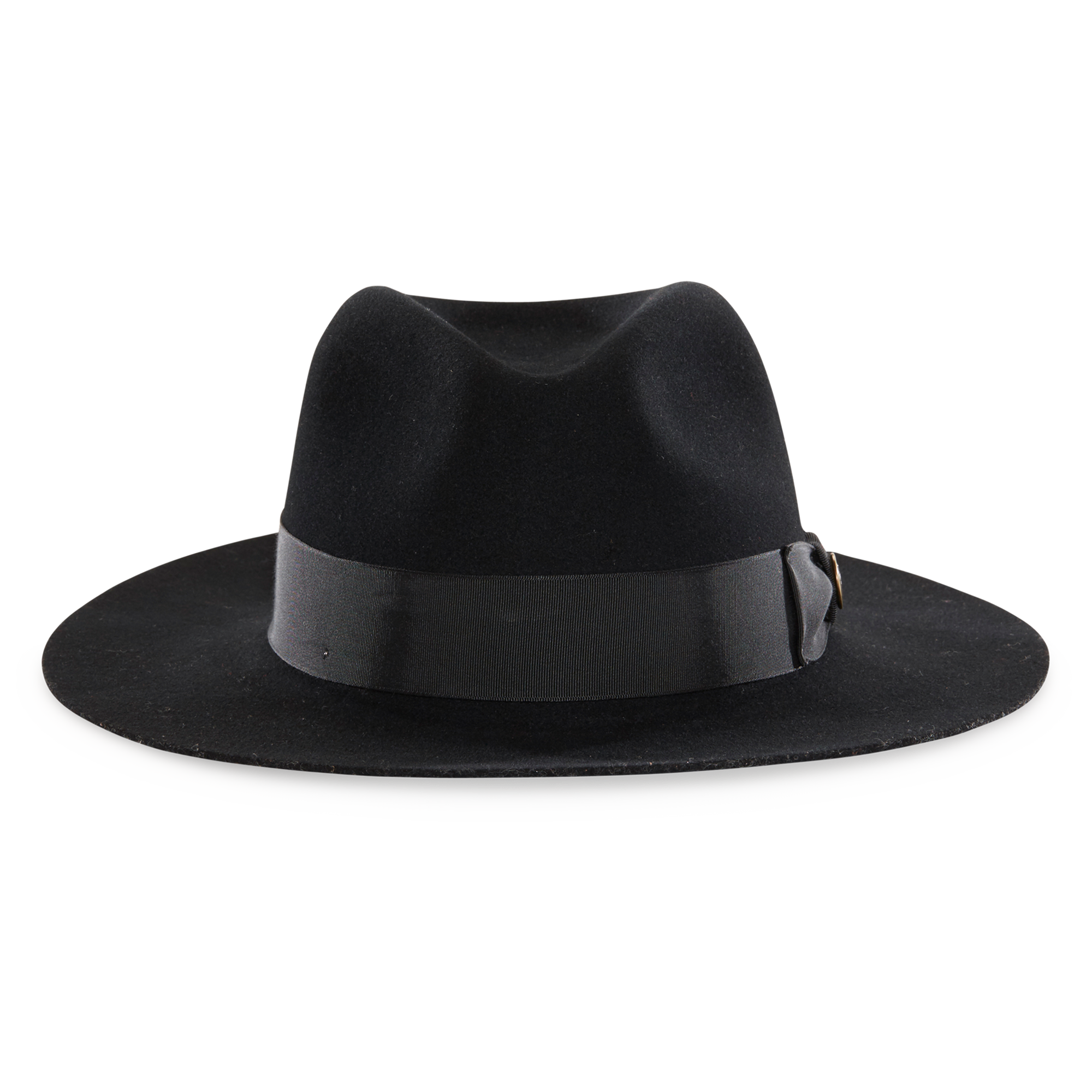 Black fedora png. County line wool hat
