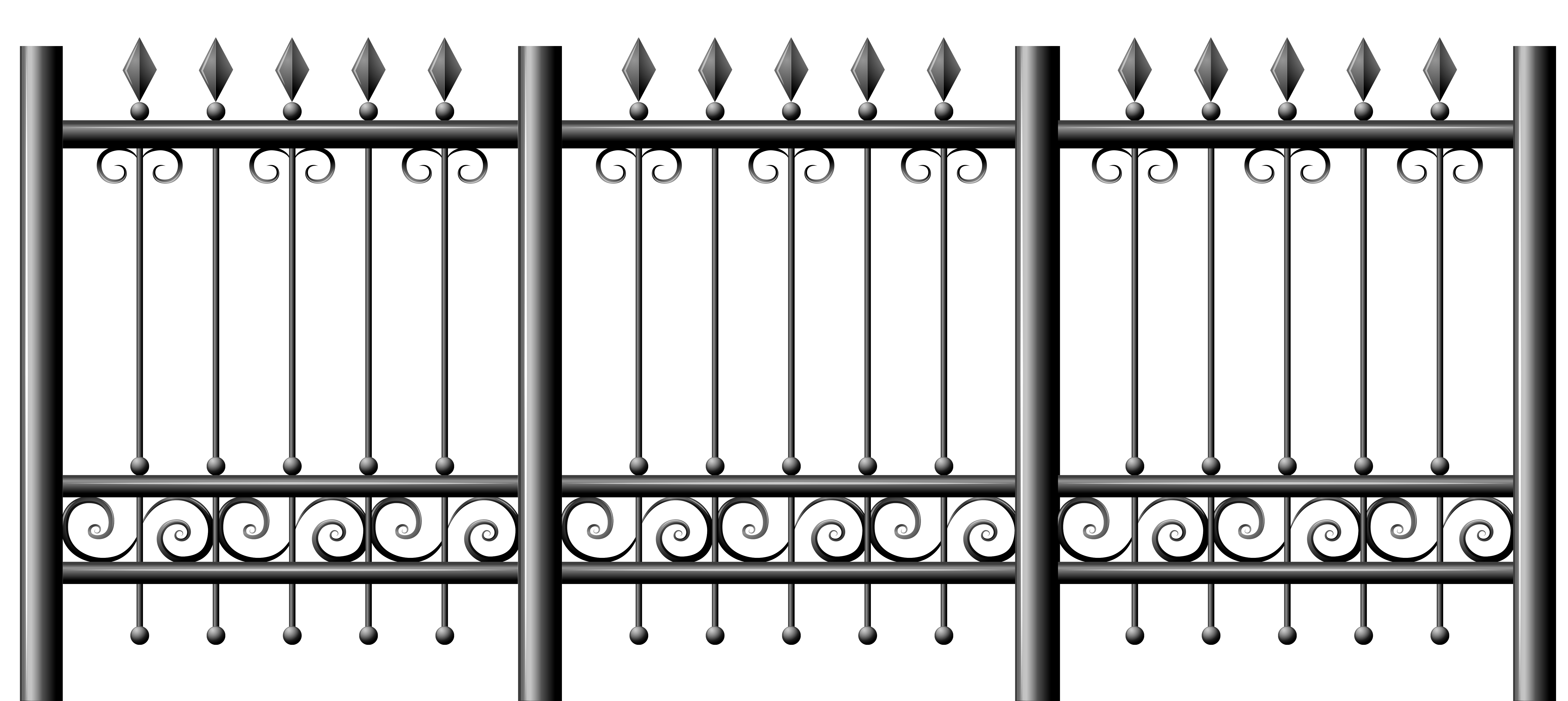 Gothic vector fence