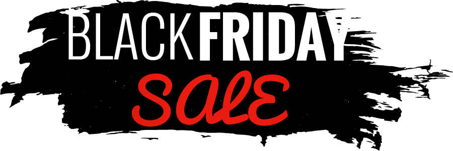 Black friday banner png. Cyber monday sales all