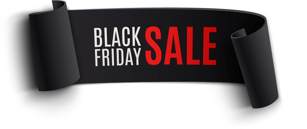 Sale banners superwave off. Black friday banner png png black and white