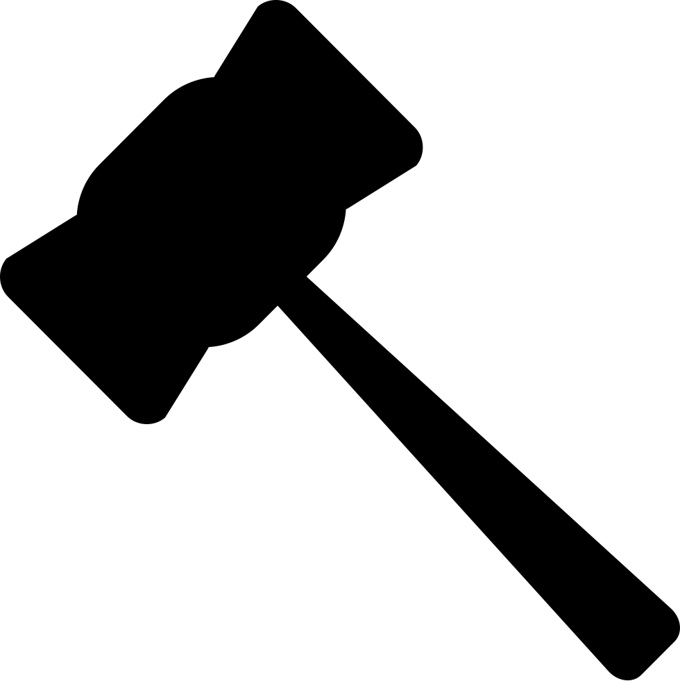 gavel svg law