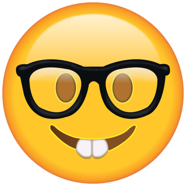 Black girl emoji png. Show off your nerdy