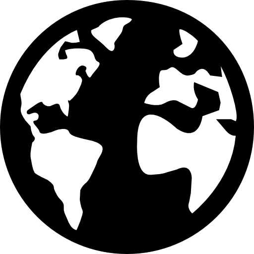 Black globe png. Other flat icon svg