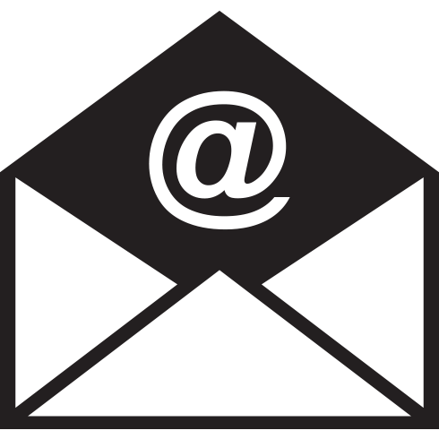 Gmail logo black and white png. Free icon download