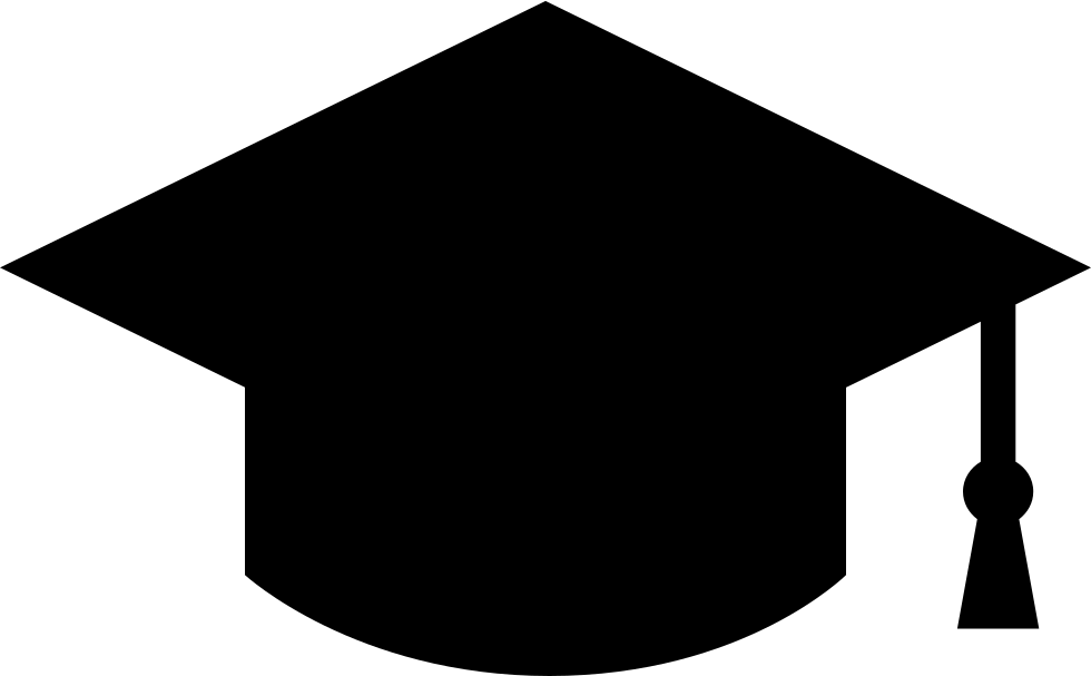 And svg shape. Student graduation cap png