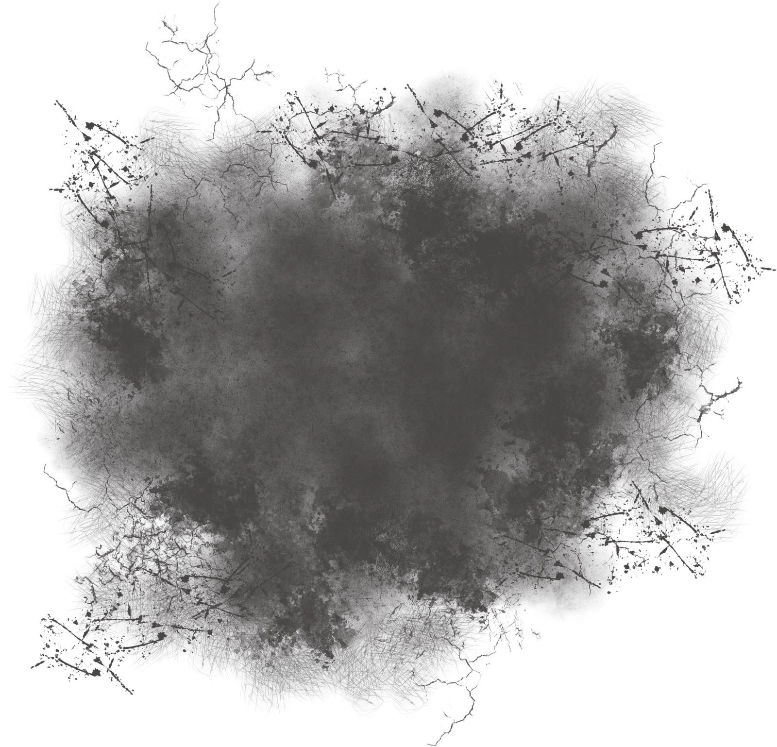 Black grunge png. Arts