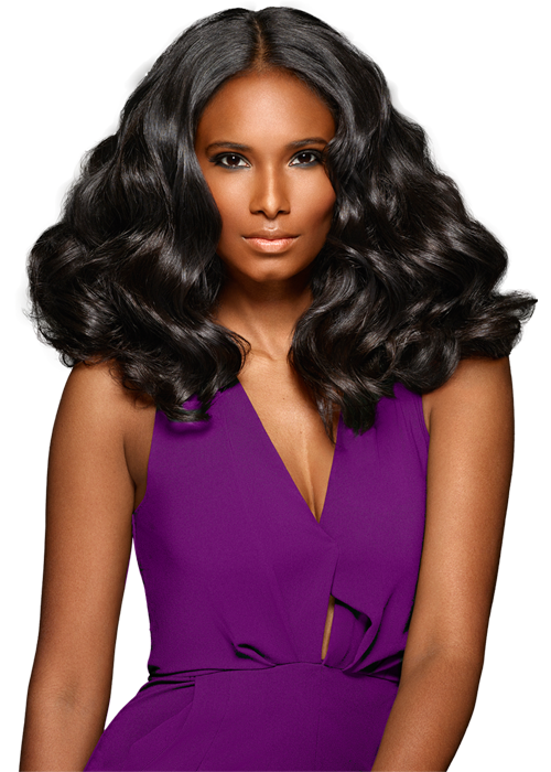 Black hair model png. How to romance curls