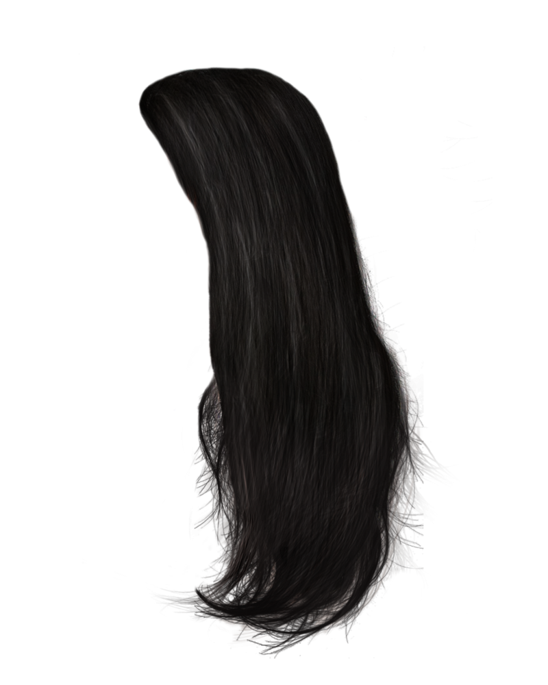 Black hair png. By moonglowlilly on deviantart