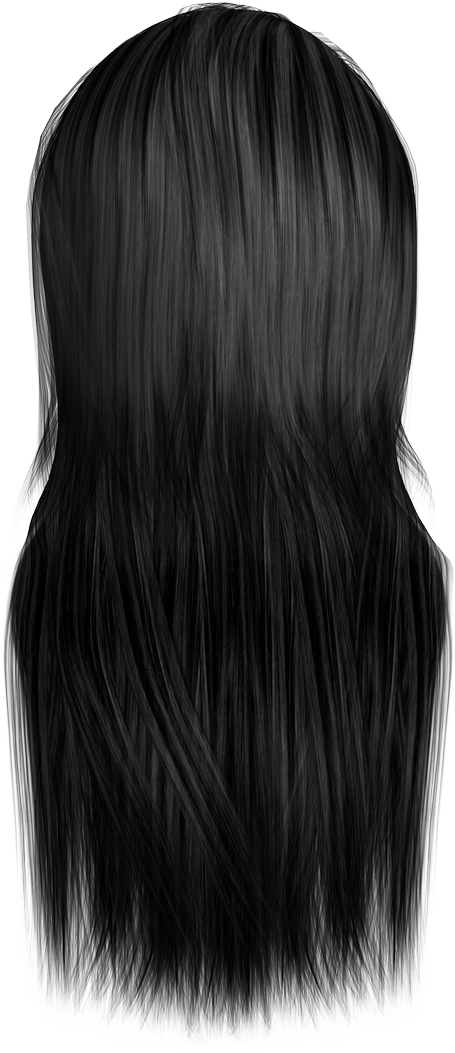 Black hair png. Images women and men