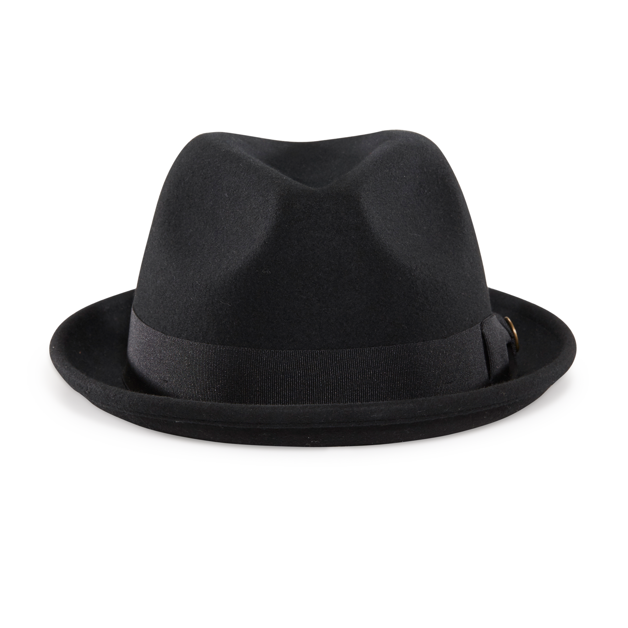Black fedora png. Good boy felt hat