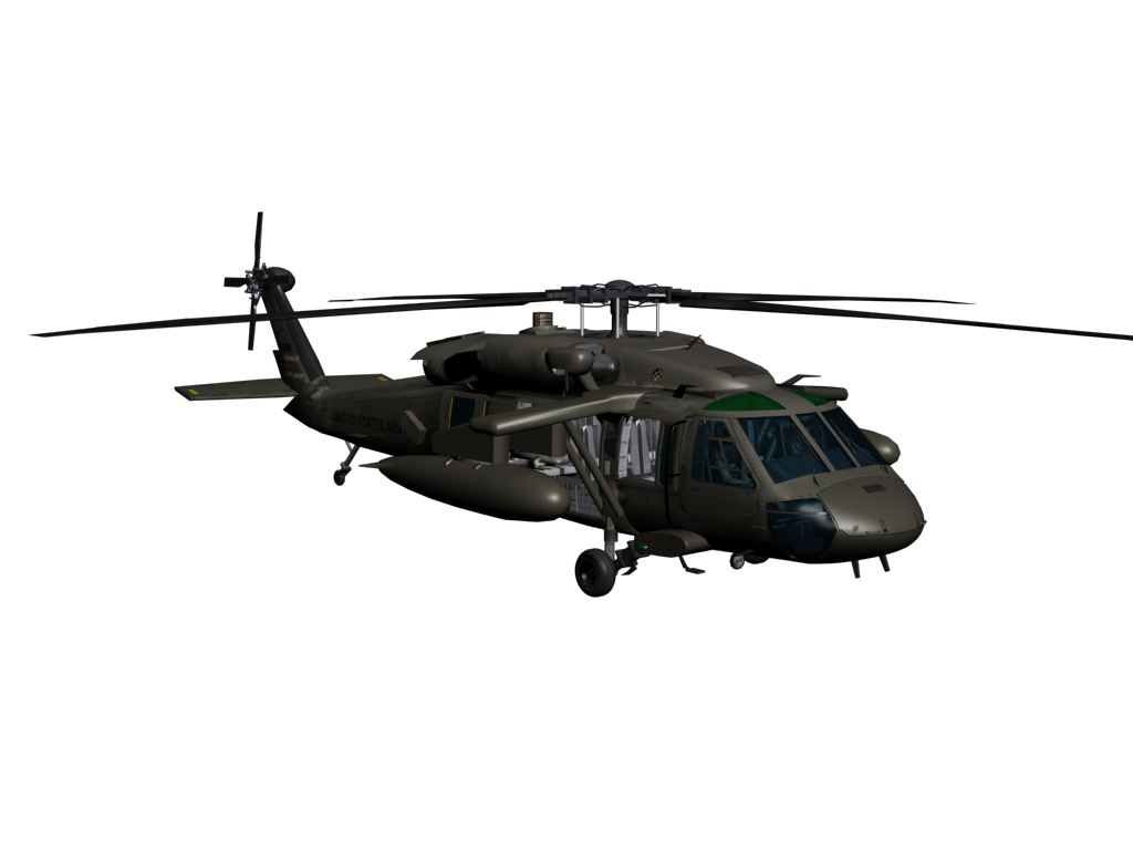 Blackhawk helicopter png. Sikorsky uh black hawk
