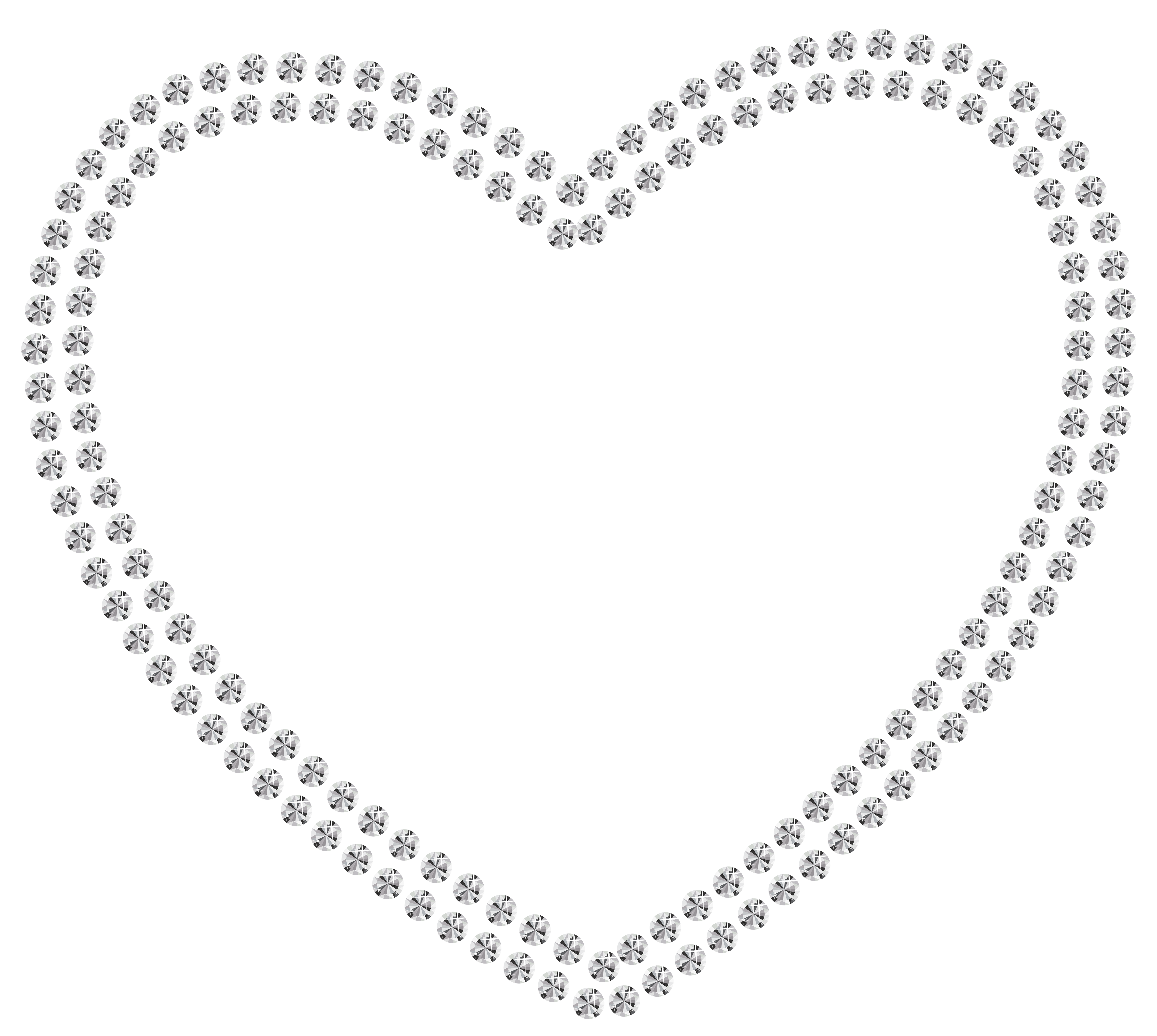 White heart png. Collection of clipart