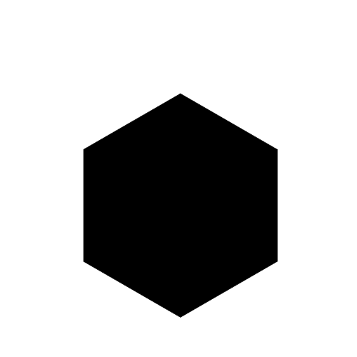 Black hexagon png. Transparent images all