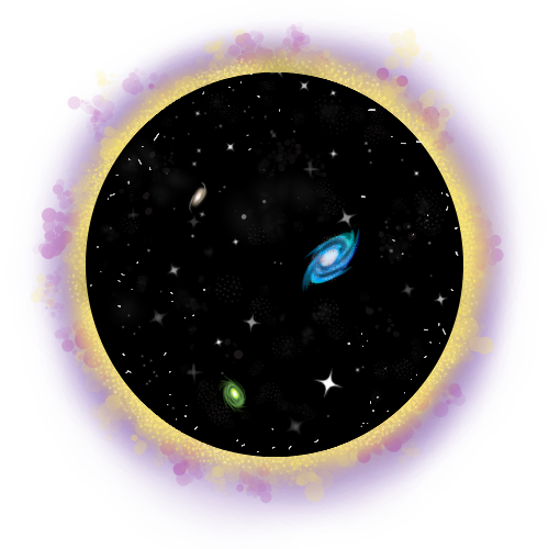 Transparent hole outer space. Beat hazard black png