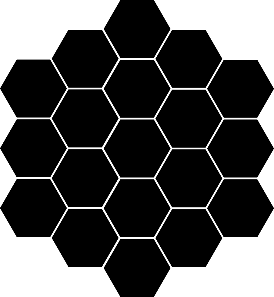 Black honeycomb png. Svg icon free download