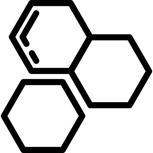 Black honeycomb png. Icon svg