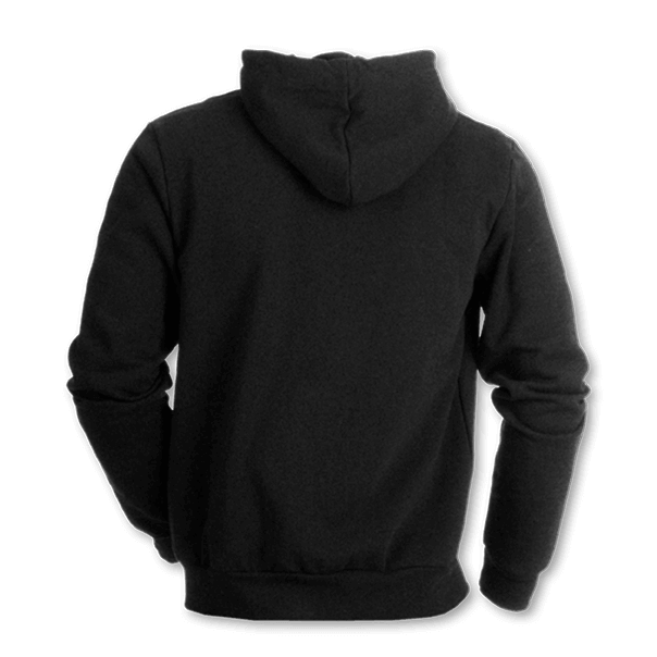 Hoodie back png. Blackout sweatshirt small shield