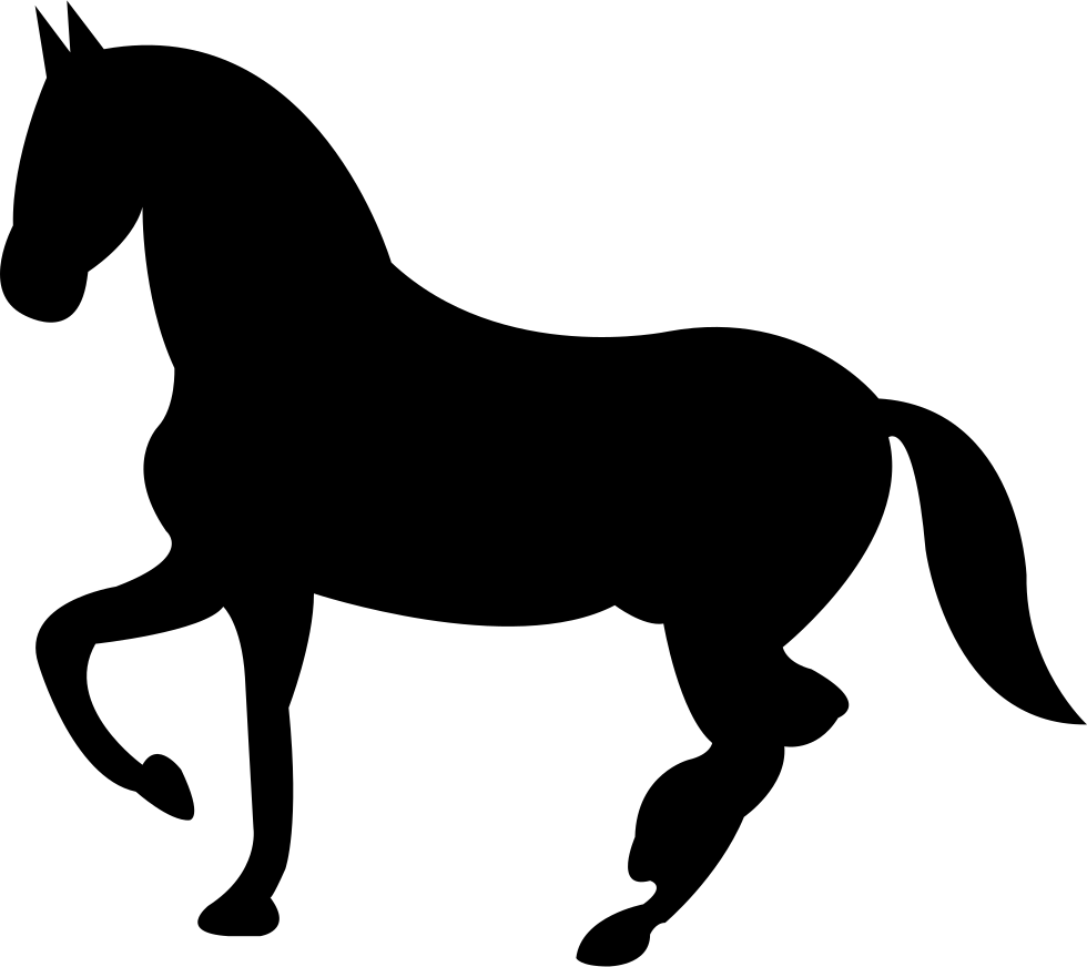 Black horse png. Dancing shape of side