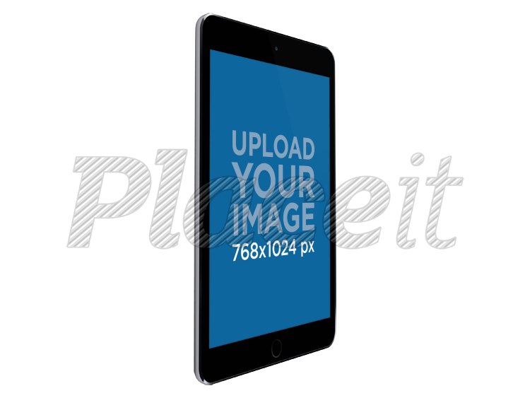 Black ipad png. Placeit in angled portrait