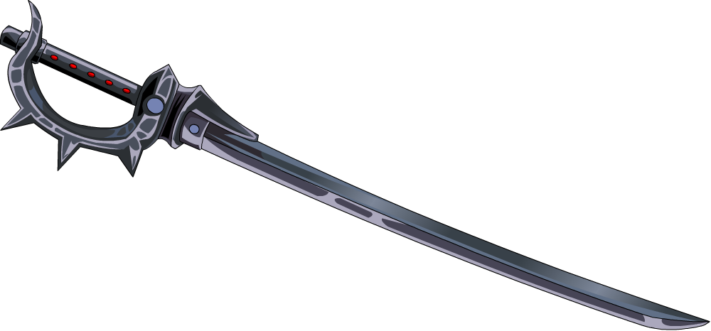 Black katana png. Modified by danearchangel on