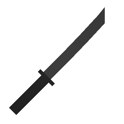 Black katana png. Skin unturned companion