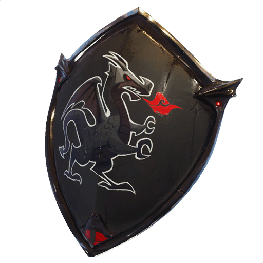Red knight png fortnite. Black shield back bling