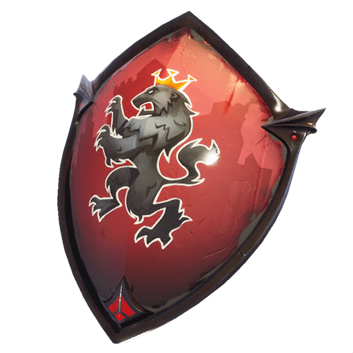 Black knight fortnite png. Red shield back bling