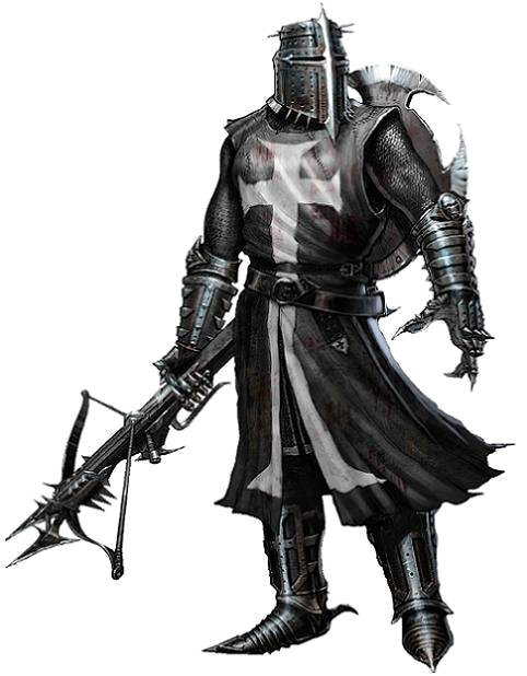 Knight .png. Image black always triumphs