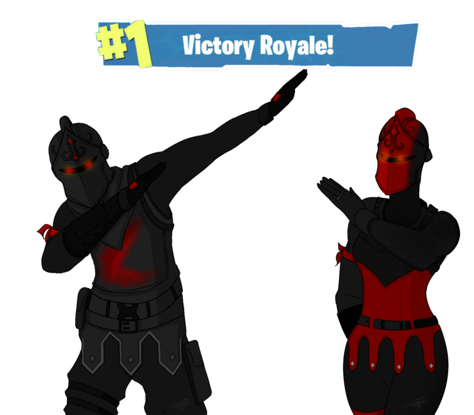 Black knight png fortnite. And red by yarizethnajar