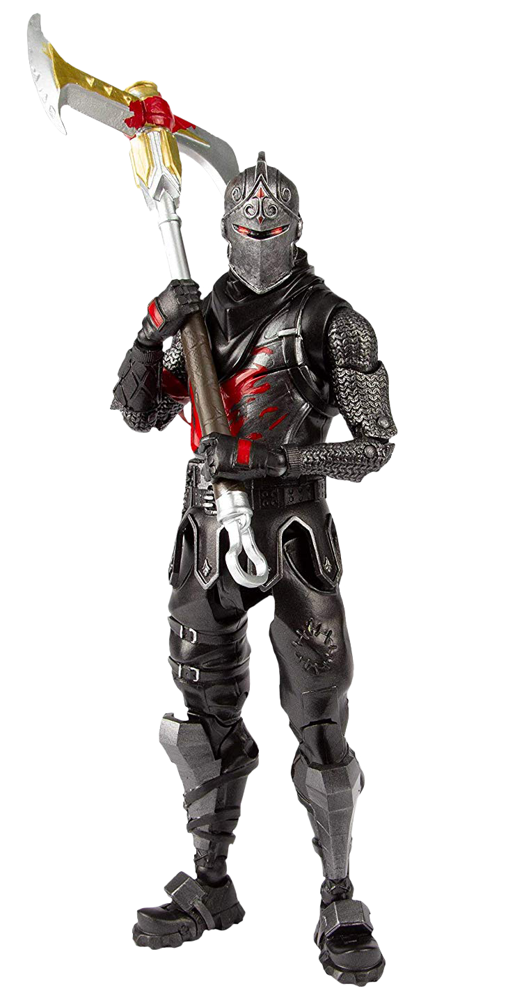 Action figure by mcfarlane. Black knight png fortnite clipart library stock