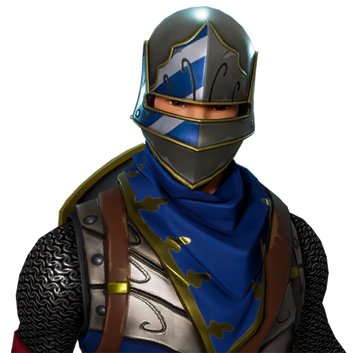 Transparent knight blue. Black outfit fnbr co