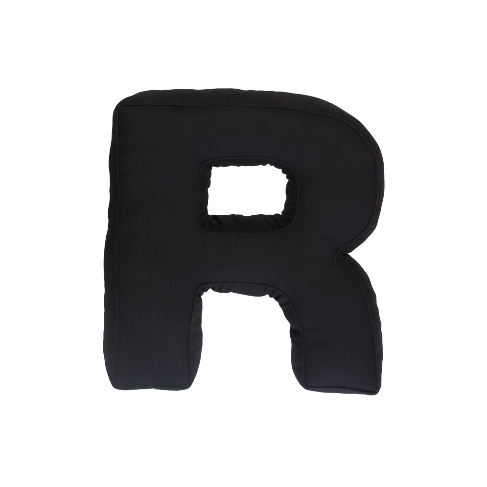 Black letter r png. Fabric