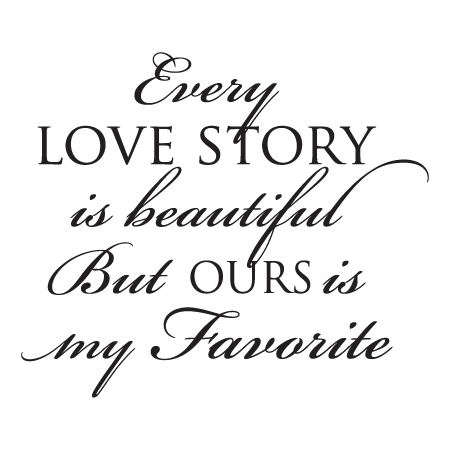 Black love quote png. Every story wall quotes