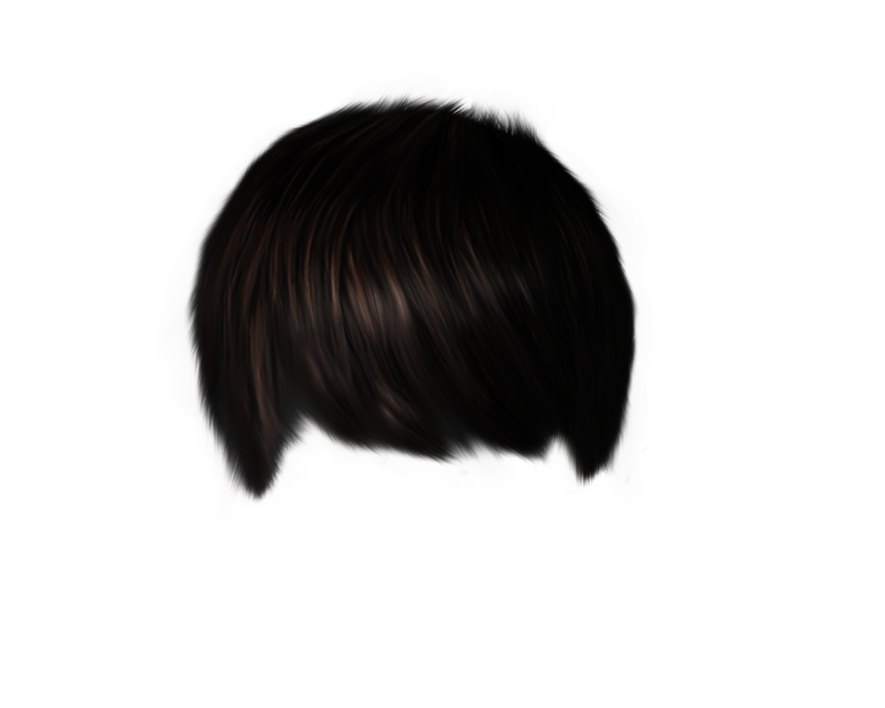 Png male by moonglowlilly. Clip bangs black hair banner stock