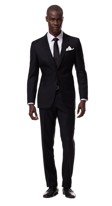 Black man png. In suit free icons