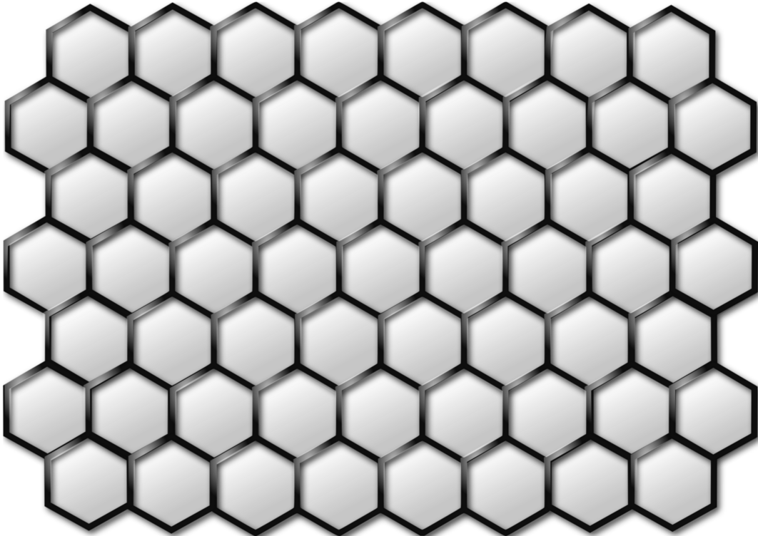 Hexagon pattern png. Mesh shiny by adream