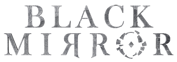 Black mirror png. Official website logo