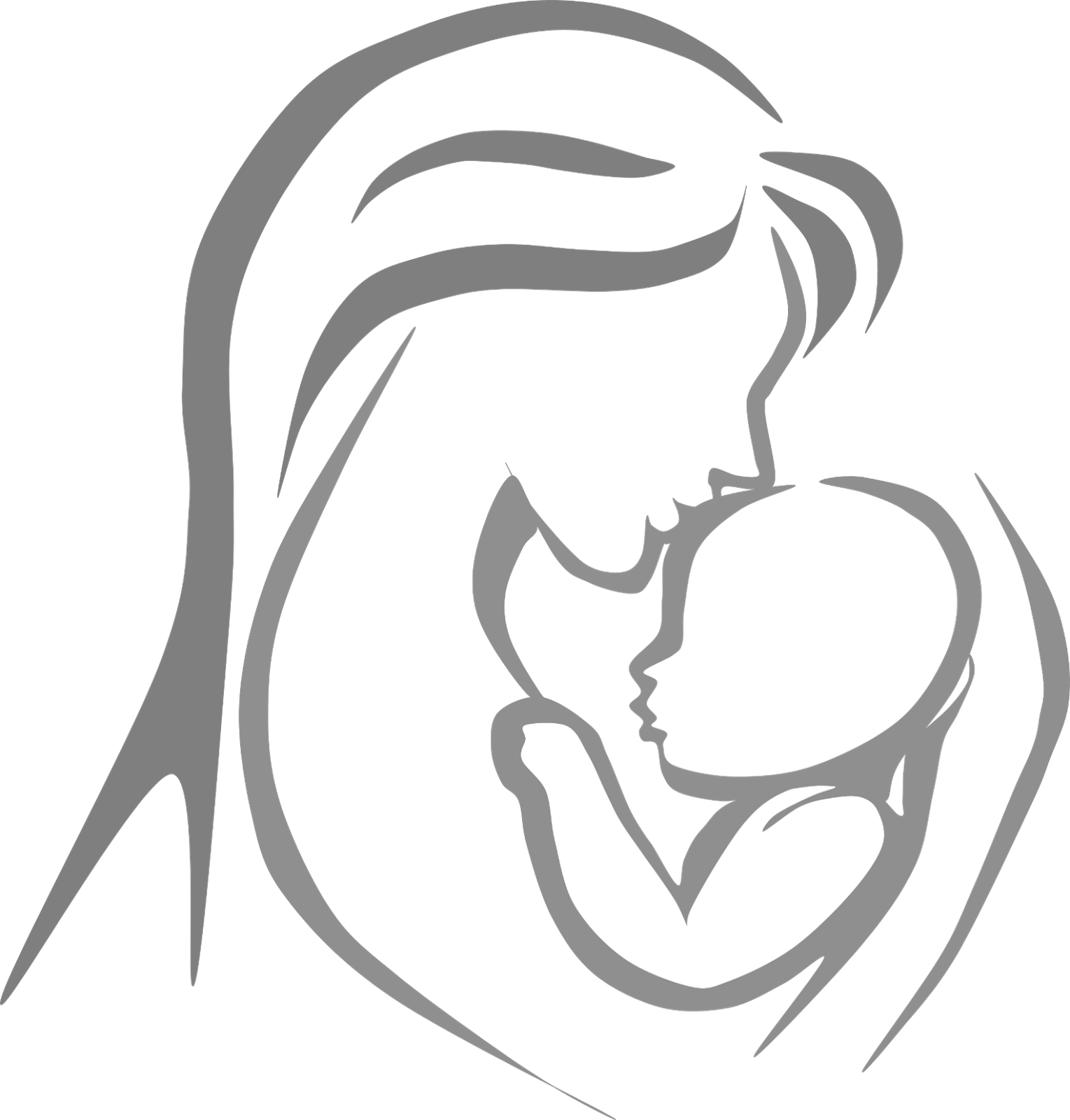 Black mom and child png. Mother photo free icons