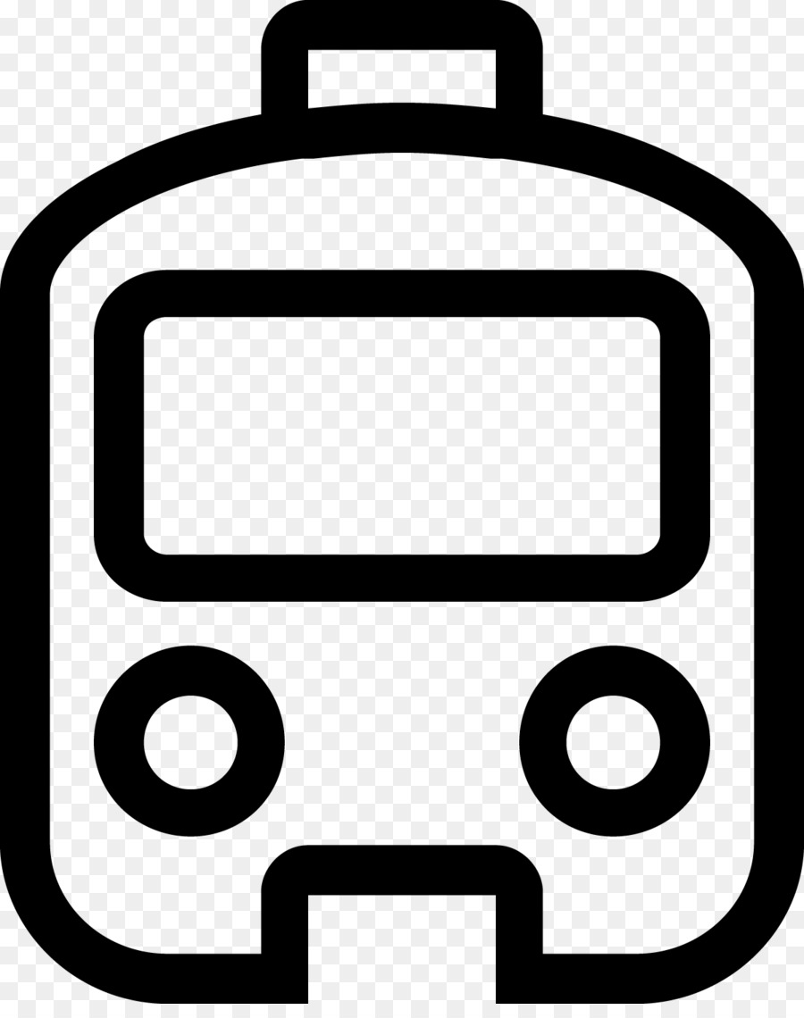 Black monorail. Line background png download