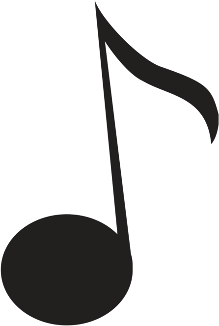 Black music note png. Download hd notes images