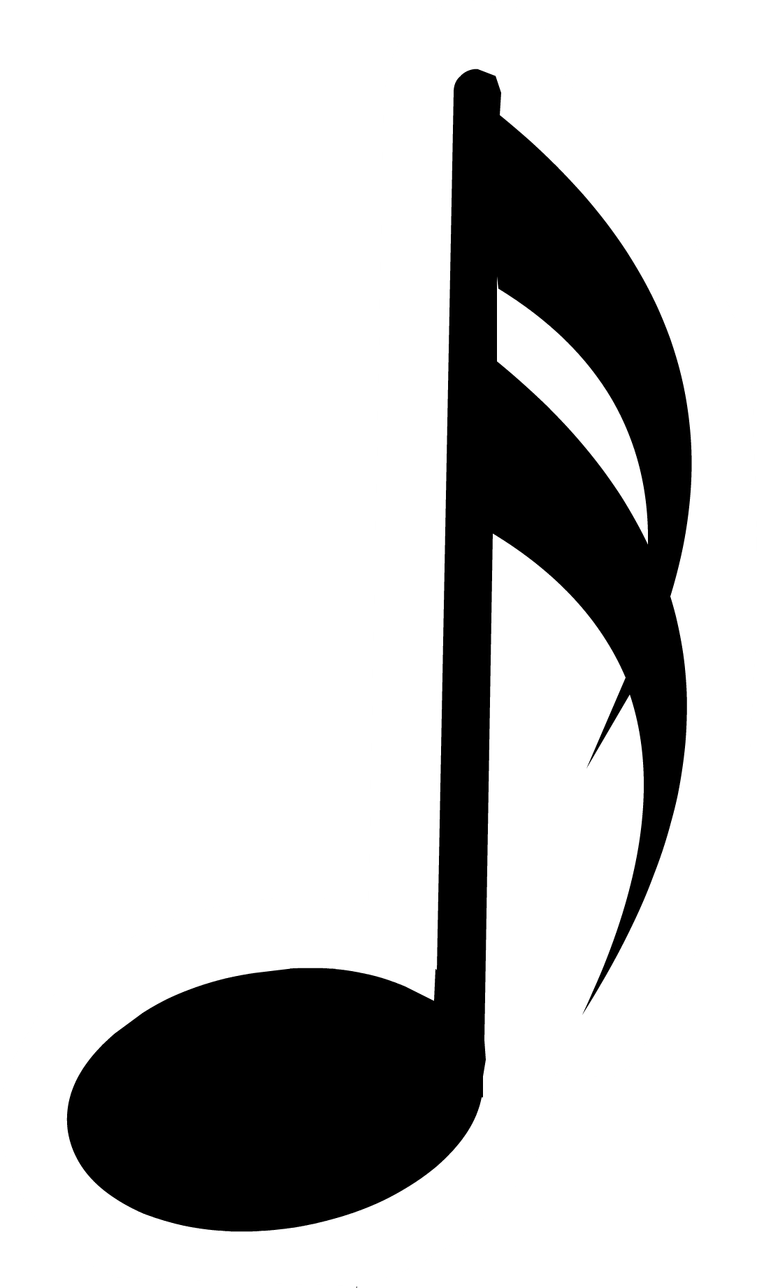 Black music note png. Image pin club penguin