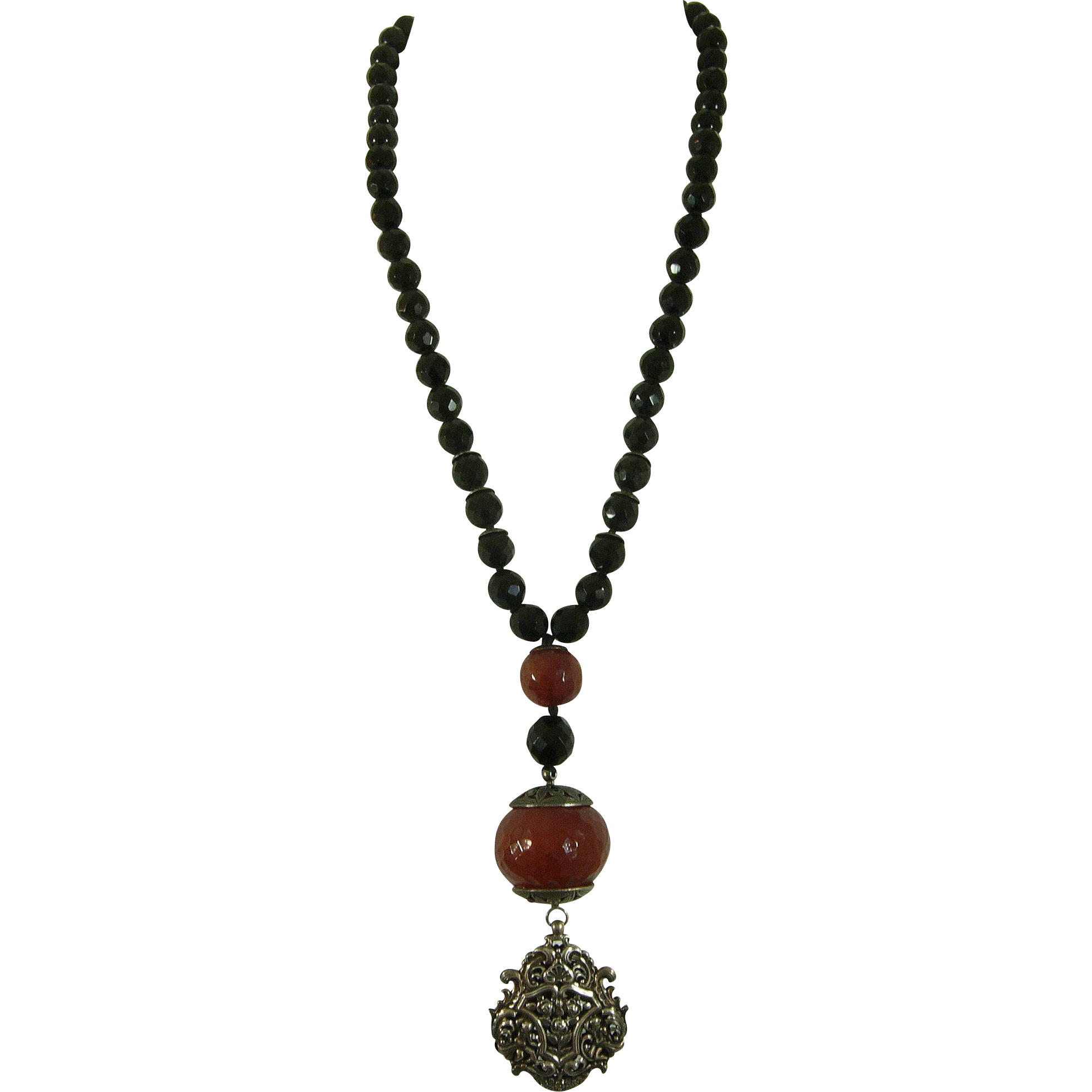 Black necklace png. S pellini italy