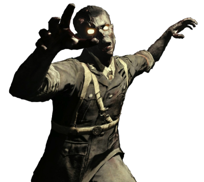 Bo3 zombie png. Download free transparent image