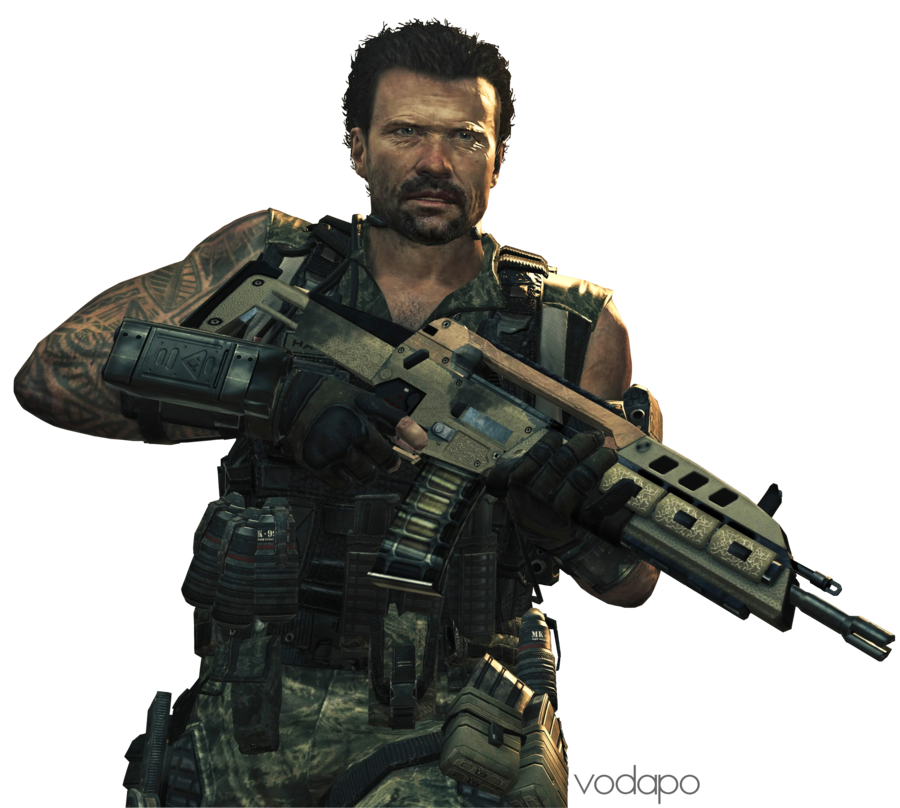 Cod 4 character png. Call of duty black