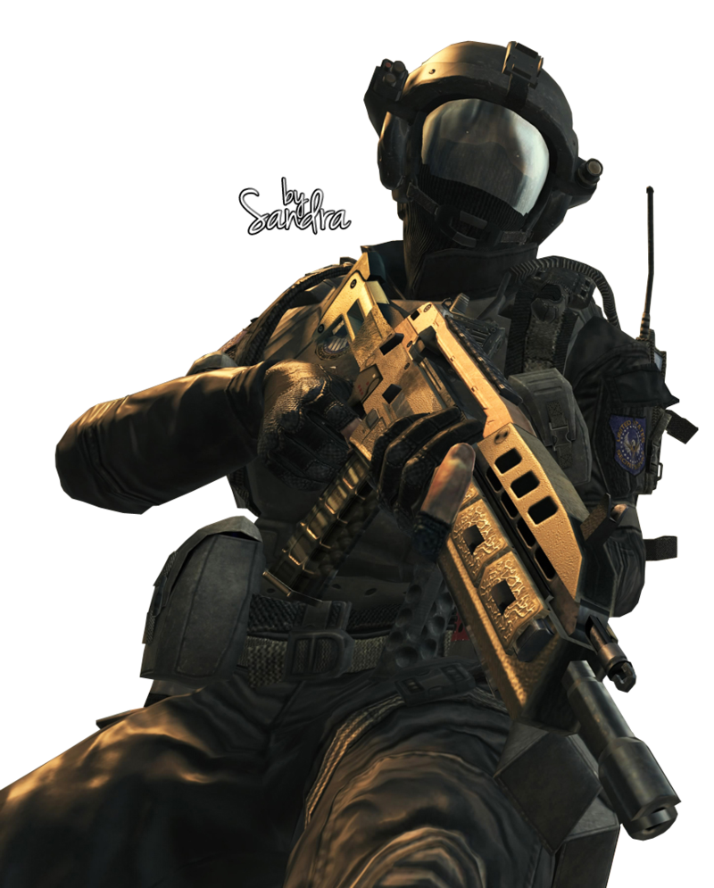 Black ops soldier png. Call of duty render