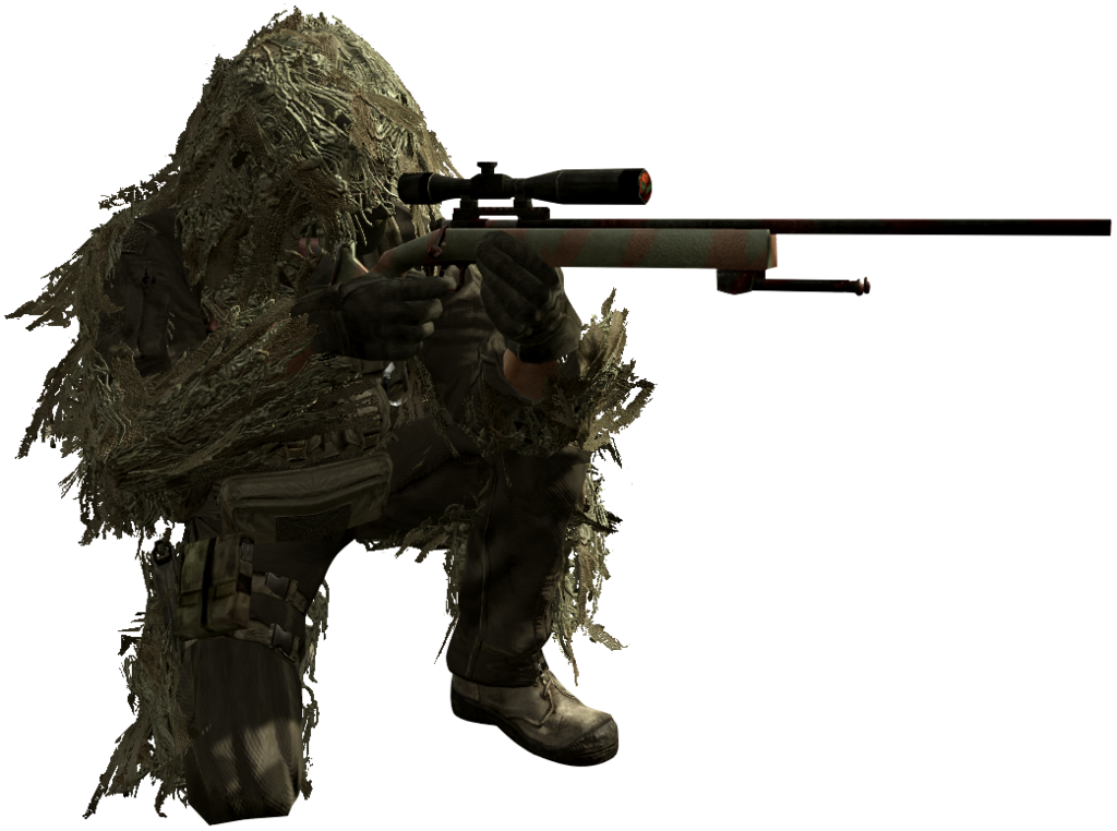 Military sniper png