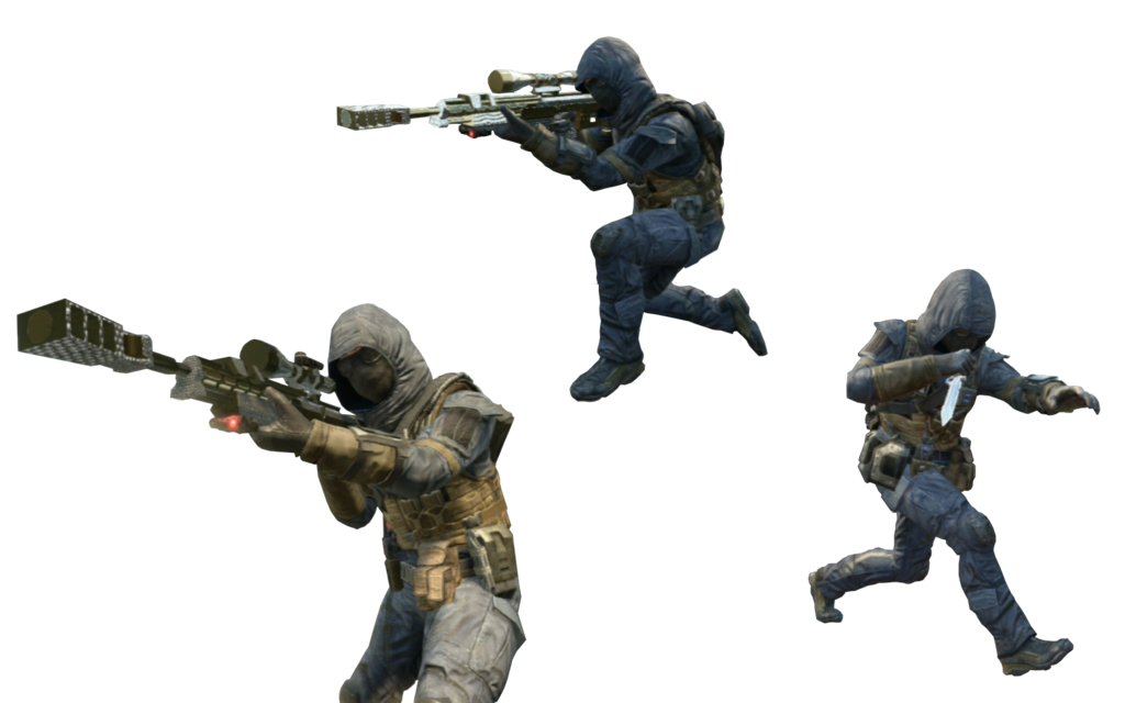 Running soldier png