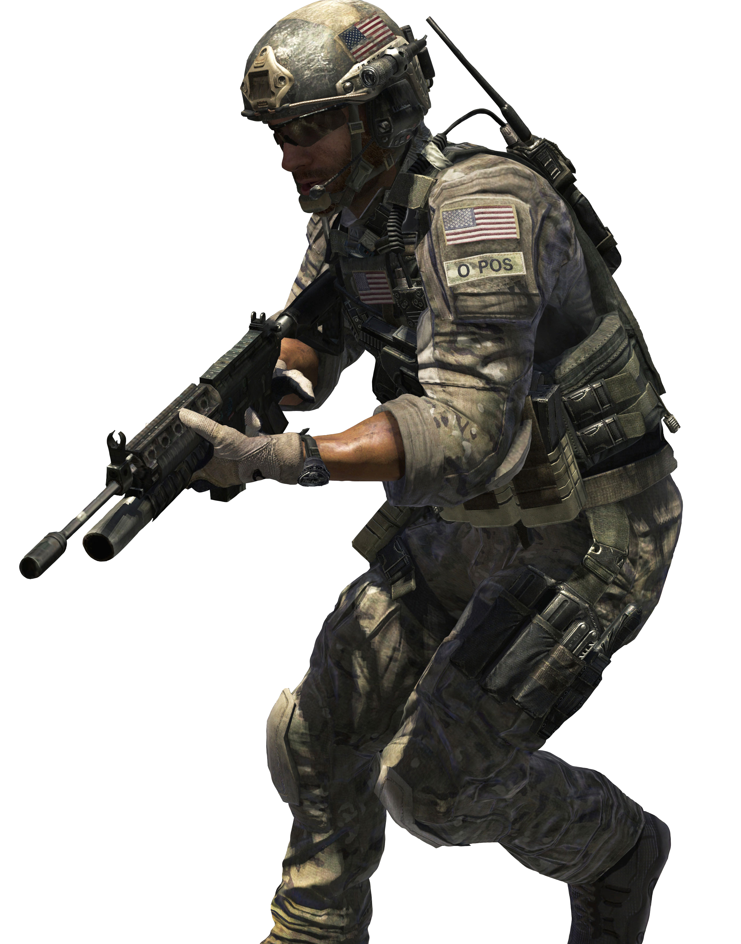 cod 4 character png