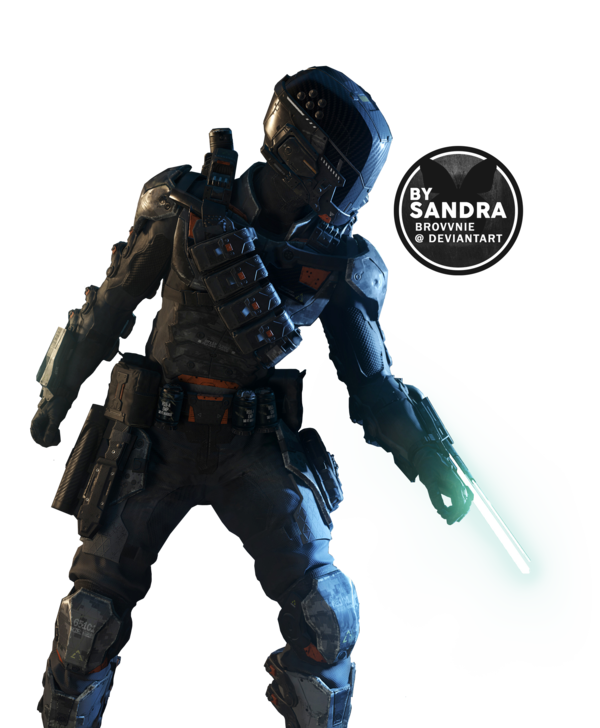 Call of duty specialist. Black ops 3 .png picture library stock